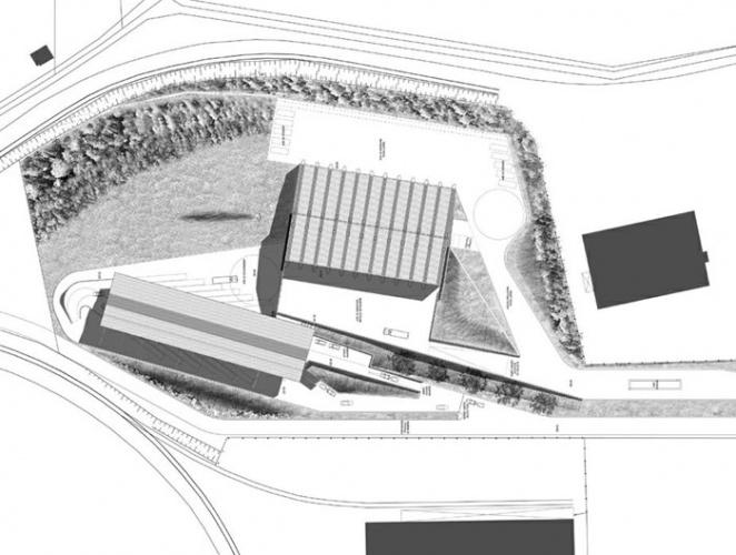 Déchetterie et centre de transit de déchets-Lunéville-2003