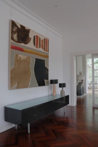 Villa contemporaine : Salon