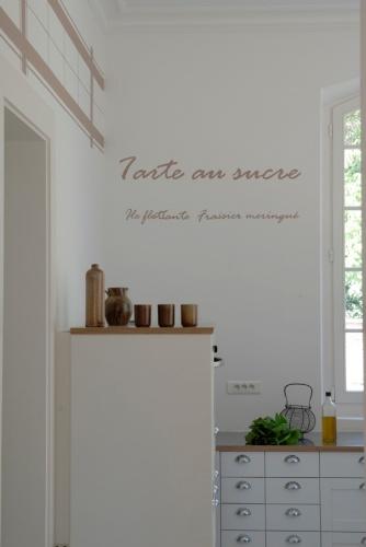 Villa contemporaine : Cuisine