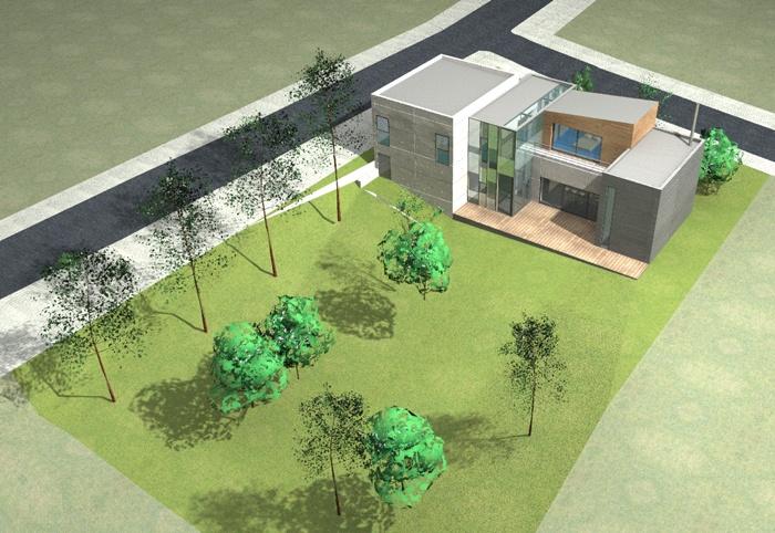 Construction d'une maison individuelle à RICHELING (57) : perspectives0000