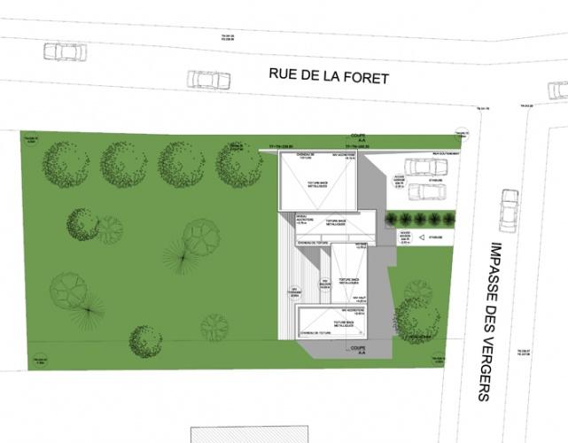 Construction d'une maison individuelle à RICHELING (57) : PC2
