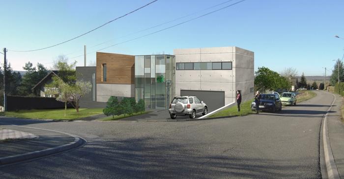 Construction d'une maison individuelle à RICHELING (57) : PERS INTEGRATION copy