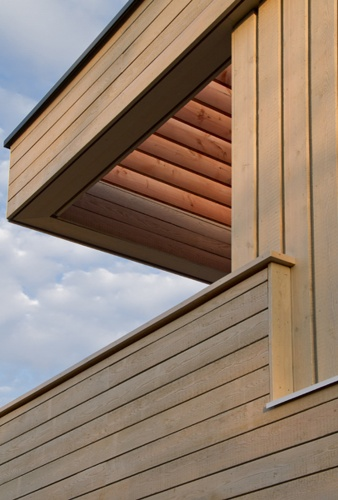 Maison CS : pergola et terrasse