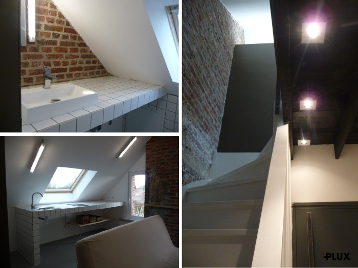 Réhabilitation d'une maison en trois appartements près de VALENCIENNES (59300) : architecte lille plux aménagement intérieur loft studio appartement loft maison design décoration
