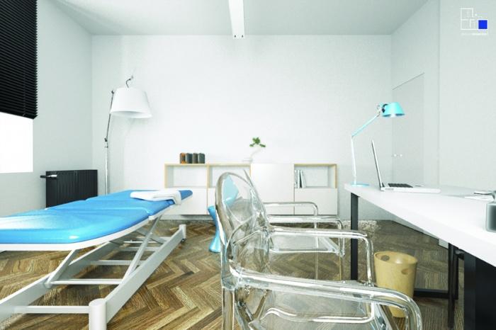 Réhabilitation d'un cabinet d'ostéopathe