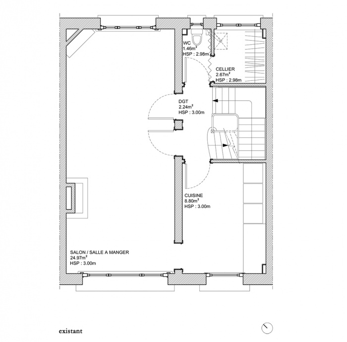 MUR TIROIR, restructuration et aménagement intérieur d'une maison individuelle à Marcq en Baroeul : image_projet_mini_61651
