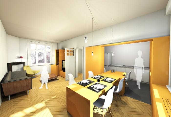 MUR TIROIR, restructuration et aménagement intérieur d'une maison individuelle à Marcq en Baroeul : image_projet_mini_61824