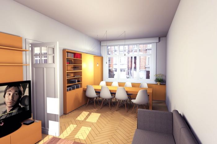 MUR TIROIR, restructuration et aménagement intérieur d'une maison individuelle à Marcq en Baroeul : vue 2 fermée.jpg