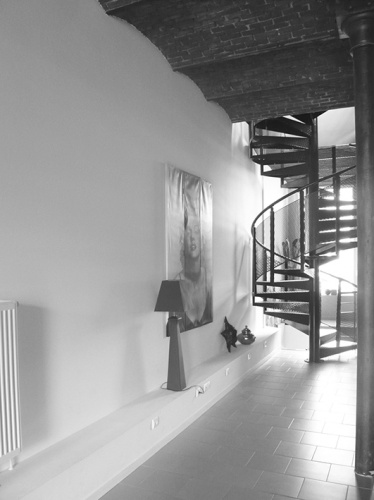 Biblioloft : LIA_vue escalier existant