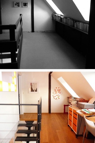 Duplex : FLO_avant-apres_bureau