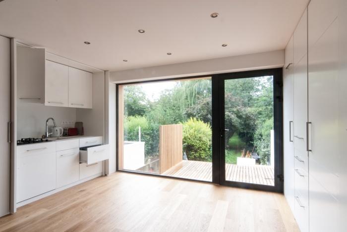 FENÊTRE SUR JARDIN, Réhabilitation et extension d'une maison de ville, aménagement d'une terrasse et des espaces extérieurs à Marcq en Baroeul : 20140819_Rosset_027.jpg