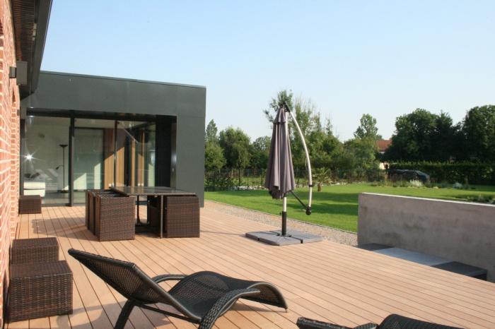 Rénovation et Extension d'une maison individuelle : terrasse