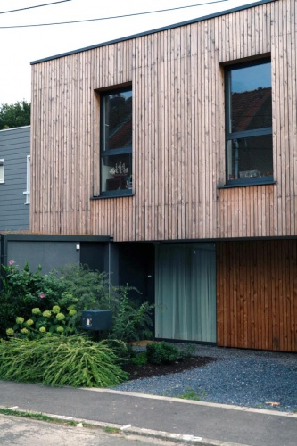 maison individuelle : cote rue
