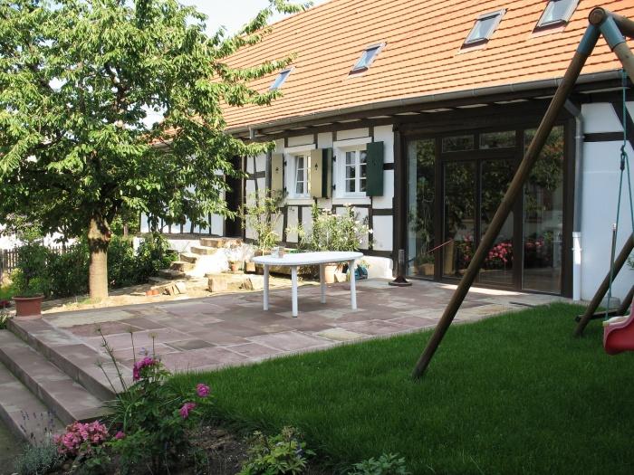 Réhabilitation de maisons Alsaciennes : Vue de l'exterieur